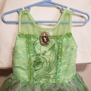 DISNEY STORE TINKER BELL COSTUME PETER PAN SIZE 3